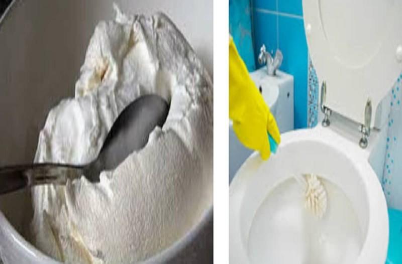 Παίρνει γιαούρτι και το ρίχνει στη λεκάνη της τουαλέτας... Ο λόγος; Τρομερό!