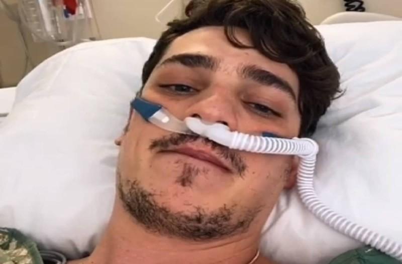 23χρονος κατέγραψε σε βίντεο τη μάχη που έδινε με τον κορωνοϊό - Σοκαριστικά βίντεο