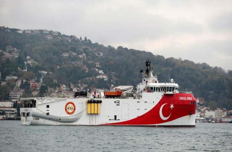 Πρόκληση από Τουρκία: Παρατάθηκε μέχρι τις 27 Αυγούστου η παράνομη Navtex για το Oruc Reis