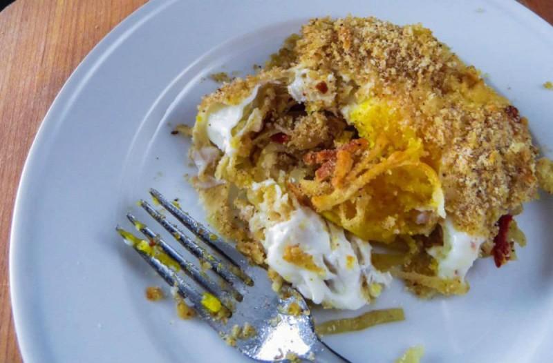 Μια απολαυστική συνταγή με ψητά αυγά, τυρί