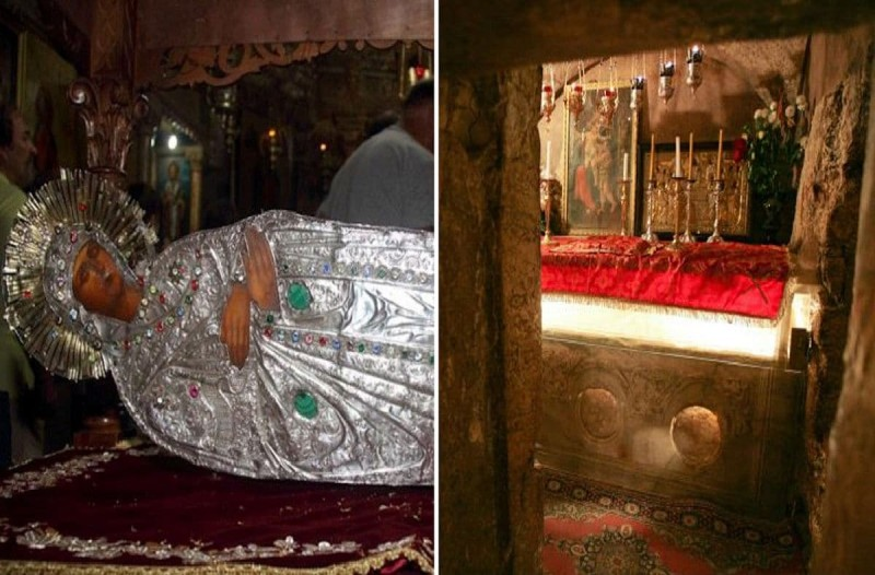 Εσείς το γνωρίζατε; Εκεί βρίσκεται ο τάφος της Παναγίας