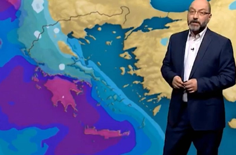 «Θα πρέπει να περιμένουμε ίσως...»: Έκτακτη προειδοποίηση του Σάκη Αρναούτογλου για τον μεσογειακό κυκλώνα!