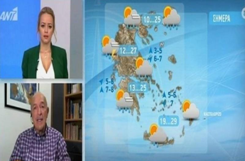 Έκτακτο δελτίο επιδείνωσης καιρού: Ο Τάσος Αρνιακός προειδοποιεί