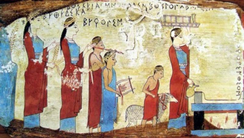 Αρχαίοι Έλληνες μπάνιο