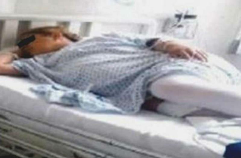 37χρονη πήγε στον γιατρό γιατί νόμιζε πως ήταν έγκυος - Όταν οι γιατροί κοίταξαν την κοιλιά της... (photo)