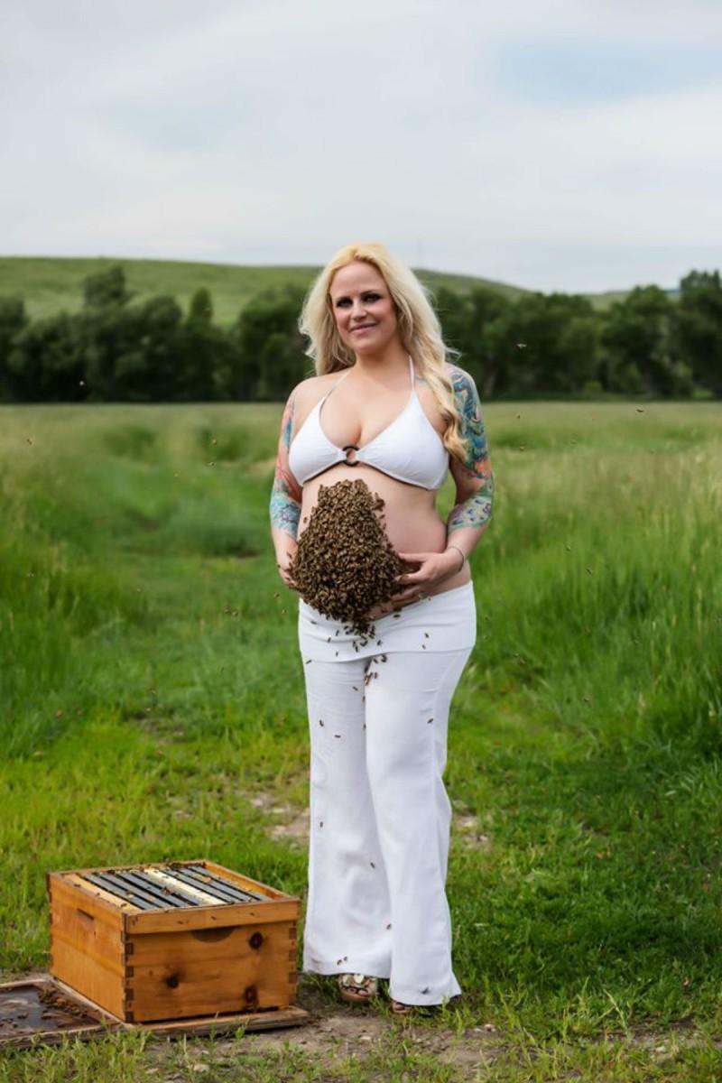 έγκυος μέλισσες