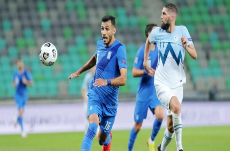 Nations League: Σλοβενία - Ελλάδα 0-0...Λευκή ισοπαλία σε μέτριο παιχνίδι
