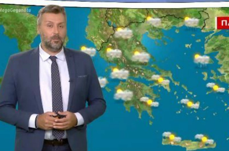 «Έρχονται βροχές και ισχυρές καταιγίδες» - Προειδοποίηση από τον Γιάννη Καλλιάνο (Video)