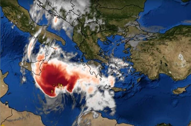 Καιρός: Έρχεται να σκεπάσει την χώρα ο «Ιανός» - Αυτές οι περιοχές θα επηρεαστούν