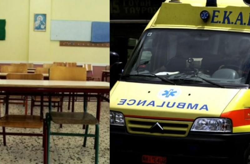 Σοκ στο Σουφλί: Μαθητής έπεσε από στέγη