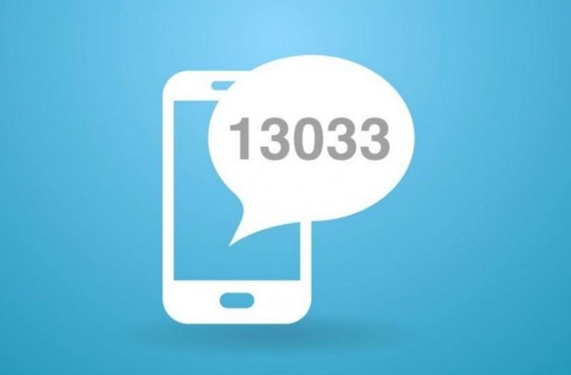 Επιστρέφει το sms στο 13033 από την Δευτέρα