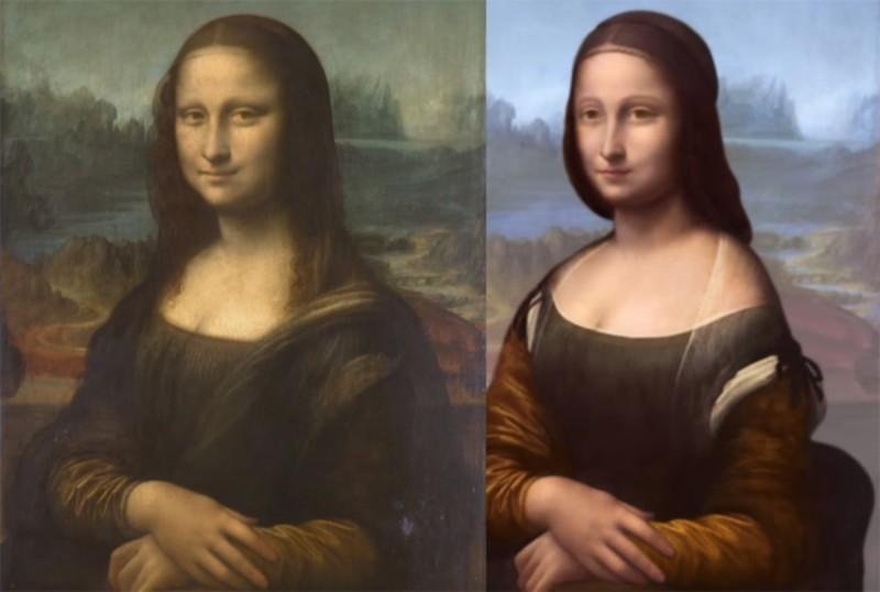 Ένα νέο μυστικό αποκαλύφθηκε μέσα από τον πίνακα της Μόνα Λίζα