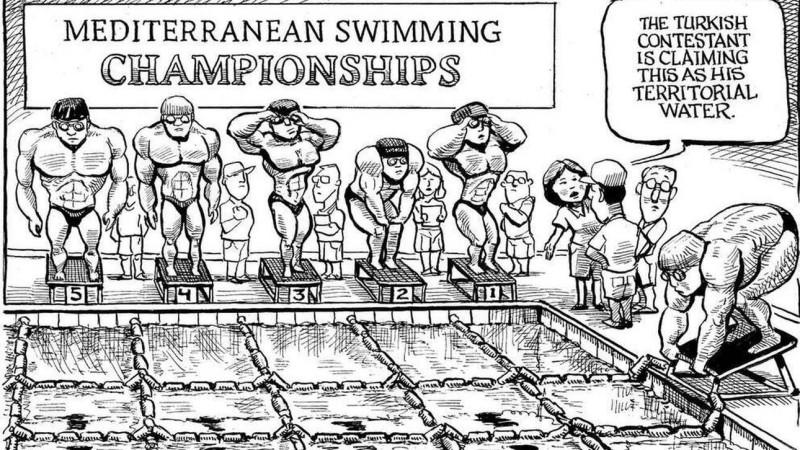 Το εύστοχο σκίτσο που σατιρίζει την τουρκική επεκτατικότητα