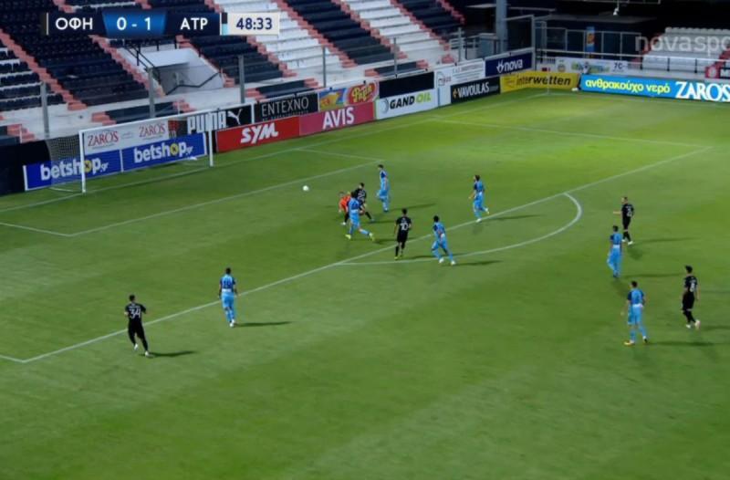 Super League: «Τσίμπησε» το βαθμό στο 93′ ο Ατρόμητος (Video)