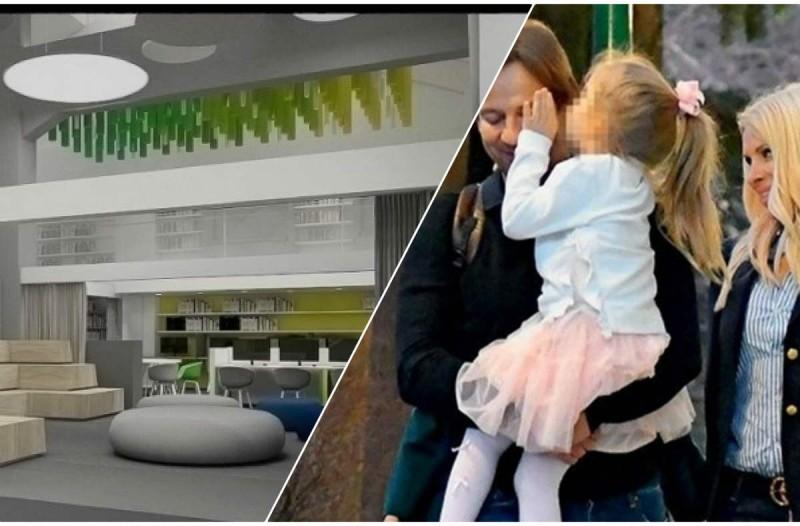 Τεραστίων διαστάσεων το ιδιωτικό σχολείο που φοιτά η κόρη της Ελένης Μενεγάκη και του Ματέο Παντζόπουλου - Δείτε φωτογραφίες