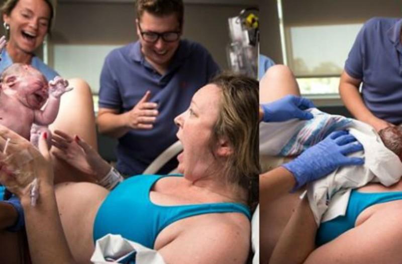 36ρονη είχε έναν φυσιολογικό τοκετό. Όταν όμως πήρε το μωρό της στην αγκαλιά της...