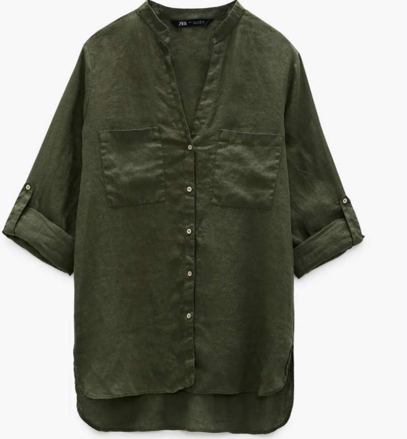 Zara προσφορές σε μπλούζες