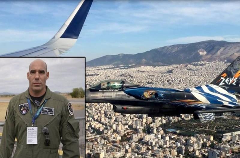 28η Οκτωβρίου: Ποιος είναι ο πιλότος της «Ζευς» που έστειλε το συγκλονιστικό μήνυμα από αέρος