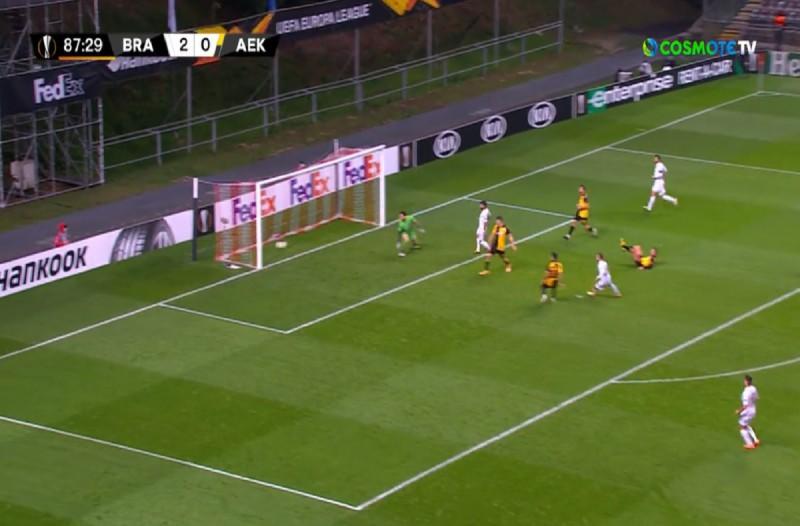 Europa League: Πρεμιέρα με συντριβή για την ΑΕΚ - «Έφαγε» τριάρα... από τη Μπράγκα (Video)