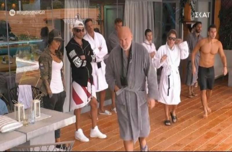 Big Brother: Το ατύχημα του Δημήτρη Κεχαγιά που