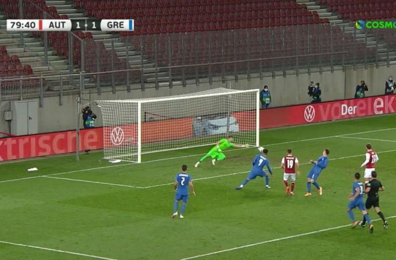 Φιλική ήττα με 2-1 για την Ελλάδα από την Αυστρία (Video)