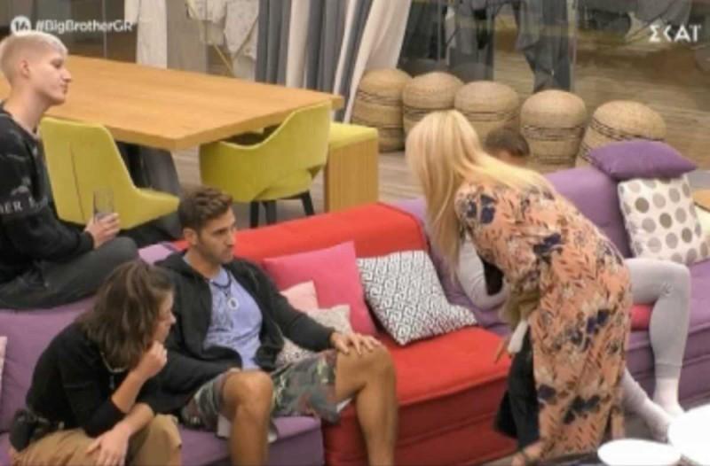 Big Brother: Αδιανόητο «ξέσπασμα» της Άννας Μαρίας - Πρωτοφανές «άδειασμα» στον Ζακ