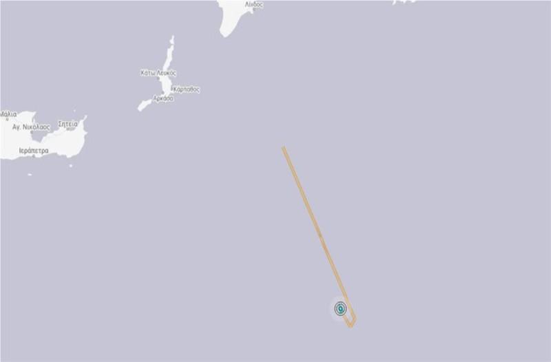 Χάρτης Oruc Reis