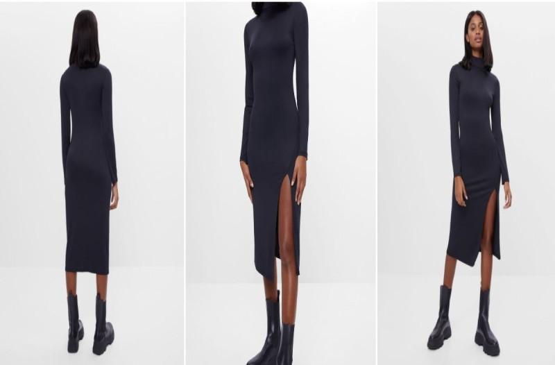Φόρεμα Bershka μαύρο