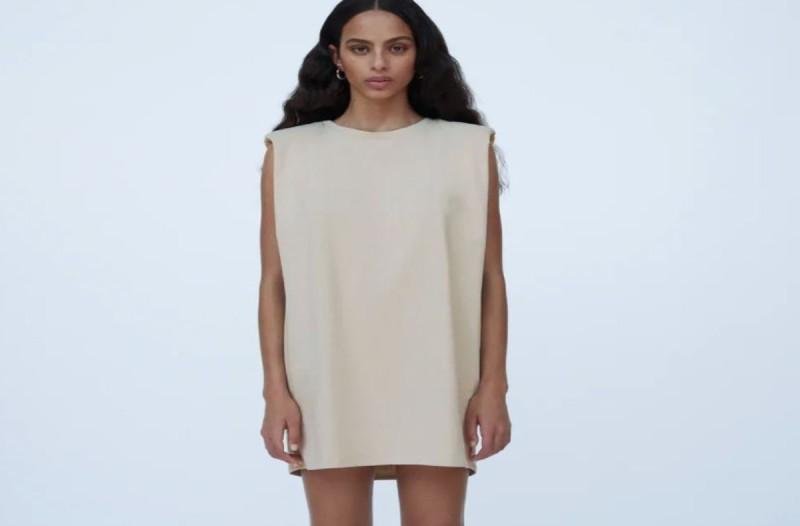 Φόρεμα ZARA με βάτες