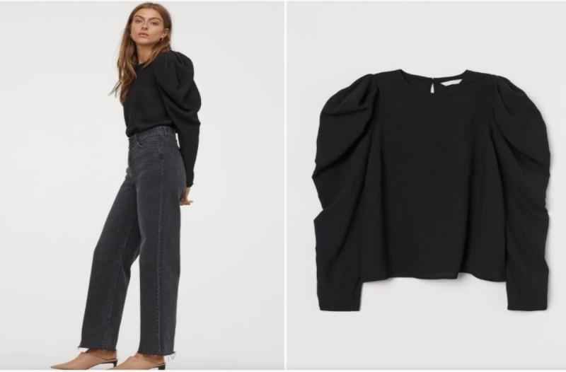 Μπλούζα H&M μαύρου χρώματος
