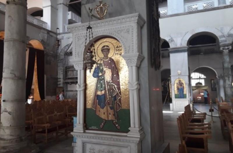 Ματαιώνεται η δοξολογία στον Ιερό Ναό Αγ. Δημητρίου στη Θεσσαλονίκη στις 26 Οκτωβρίου
