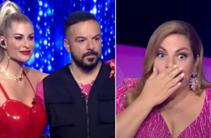 Σάστισαν όλοι στο J2US: Η Βίκυ Σταυροπούλου αποκάλεσε τον Τριαντάφυλλο... - Έξαλλος ο τραγουδιστής
