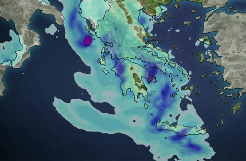 Καιρός: Έρχεται μεγάλη κακοκαιρία - Πλημμύρες μέχρι και στην Αττική