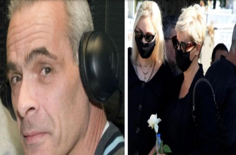Τελευταίο αντίο στον Κώστα Μπατή: «Ρίγη» συγκίνησης στην κηδεία του - Συντετριμμένη η πρώην σύζυγός του, Ελένη Παπαϊωάννου