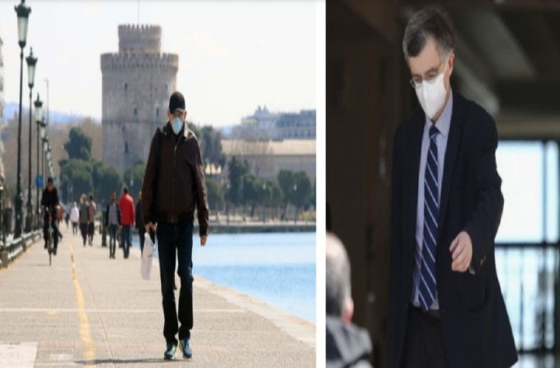 Κορωνοϊός: «Καμπανάκι» Σωτήρη Τσιόδρα - Ένα βήμα πριν το lockdown η Θεσσαλονίκη