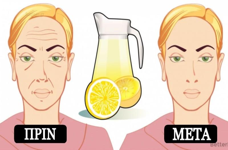 Πείτε τέλος στις ρυτίδες - Το σπιτικό τονωτικό με λεμόνι που θα σας κάνει να δείχνετε πιο φρέσκιες από ποτέ