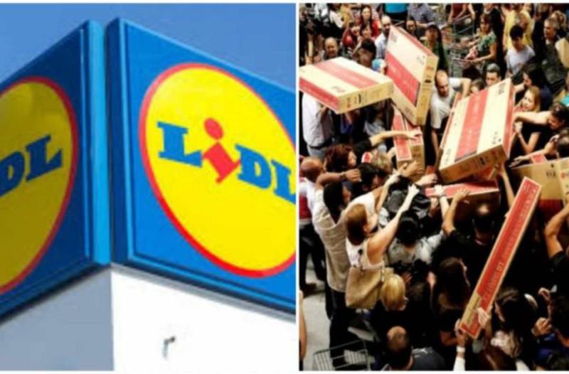 Έγινε χαμός σε κατάστημα Lidl - Πελάτες περίμεναν ώρες μέχρι να ανοίξουν