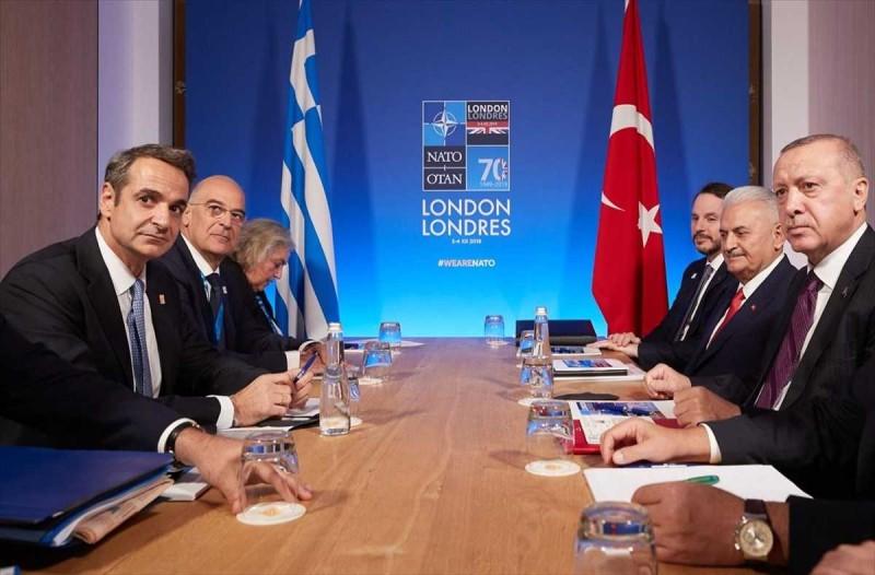 Σεισμός στη Σάμο: Τηλεφωνική επικοινωνία Μητσοτάκη με Ερντογάν