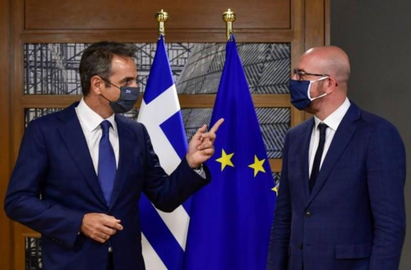 Σύνοδος Κορυφής: Επαναφέρει την κρίση στα ελληνοτουρκικά ο Μητσοτάκης
