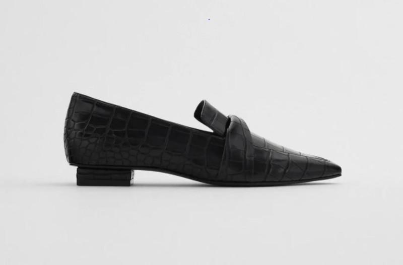 Παπούτσια μοκασίνι ZARA