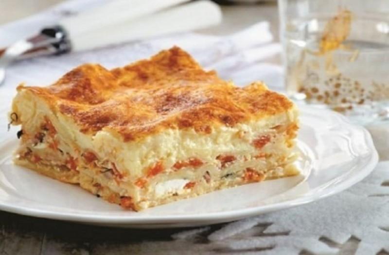 Παστίτσιο χωρίς κιμά εύκολη συνταγή