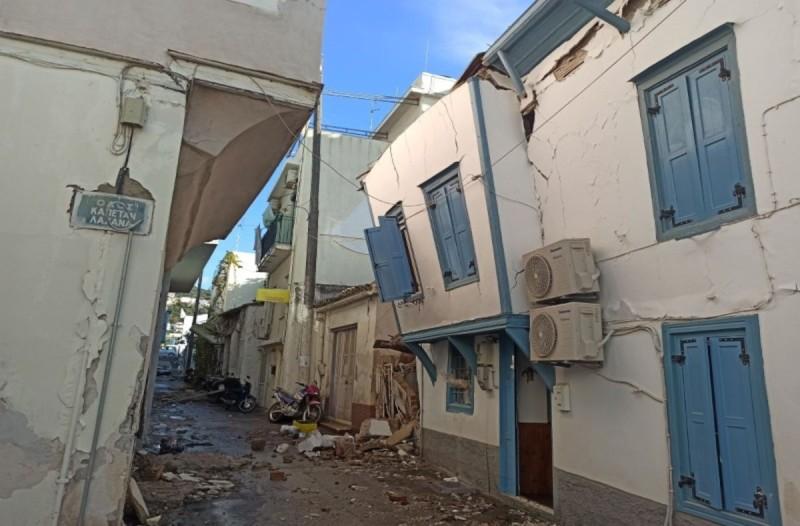 Σεισμός στη Σάμο: Νέος ισχυρός μετασεισμός 4,6 Ρίχτερ
