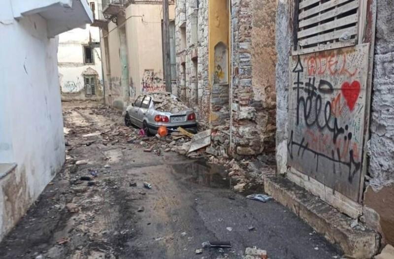 Σεισμός στη Σάμο: Στην Αθήνα διακομίζεται μία ανήλικη τραυματίας
