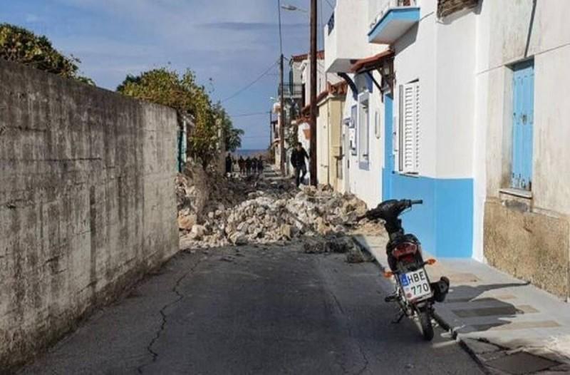 Σεισμός στη Σάμο: Στους οκτώ οι τραυματίες που μεταφέρθηκαν στο νοσοκομείο