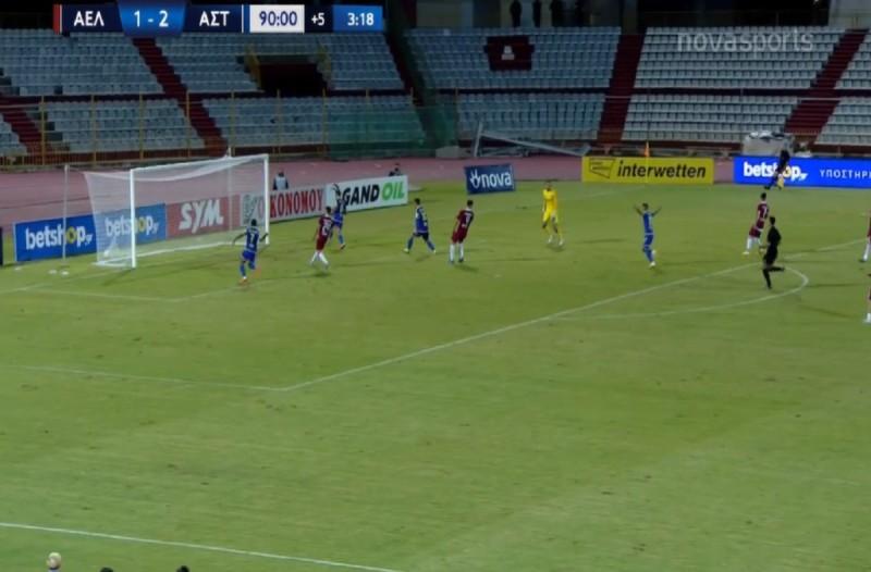 Super League: Έλαμψε στη Λάρισα ο Αστέρας Τρίπολης (Video)