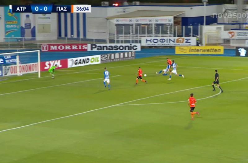 Super League: Σπoυδαίο διπλό του ΠΑΣ Γιάννενα μέσα στο Περιστέρι (Video)