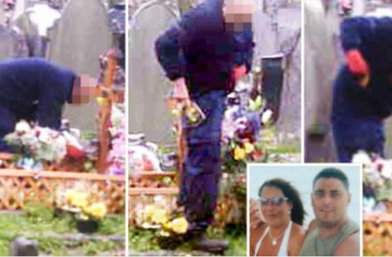 50χρονη έβαλε κάμερα στον τάφο του άντρα της