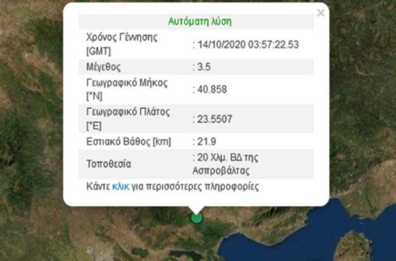 Σεισμός στην Θεσσαλονίκη