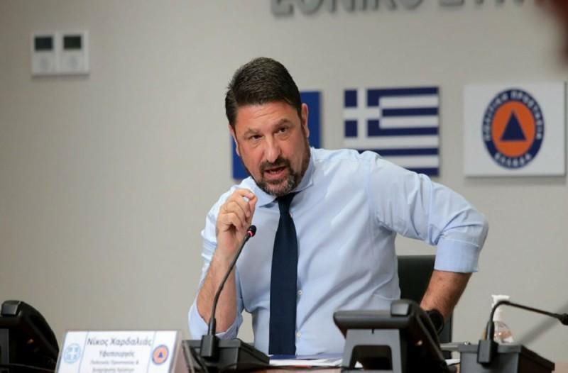 Νίκος Χαρδαλιάς: Τι είπε για την ανάκληση της απόφασης για το άνοιγμα των γηπέδων