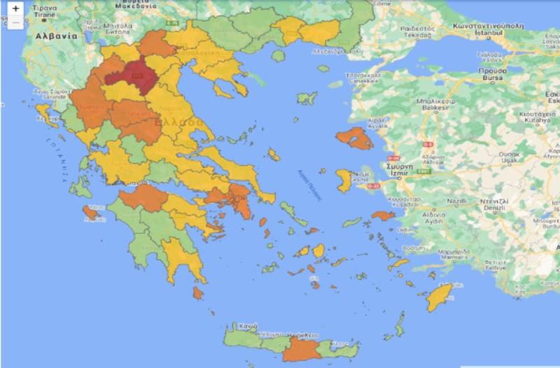 Χάρτης κρουσμάτων